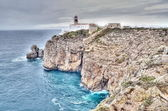 Lighthouse of Sagres, Portugal in HDR — Stock Photo