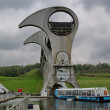FALKIRK - OCTOBER 18:View of the Falkirk Wheel on October 18, 20 — Stock Photo