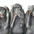 Hear speak see no evil — Stock Photo #22735103