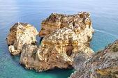 Rotsachtige kust van portugal — Stockfoto