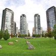 Stock Photo: Towers of Vancouver BC, Canada