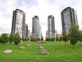 Towers of Vancouver BC, Canada — Stock Photo