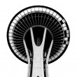 SEATTLE - SEPTEMBER 6: Space Needle in Seattle on September 6, 2 — Zdjęcie stockowe