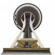 SEATTLE - SEPTEMBER 6: Space Needle in Seattle on September 6, 2 — Stock Photo