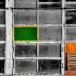 Windows of an old abandoned factory — Stock Photo