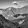 View from Mount Toubkal (4,167 metres), Atlas, Morocco — Stock Photo