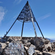 Top of Mount Toubkla (4,167 metres), Atlas Mountain, Morocco — Stock Photo