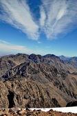 View from Mount Toubkal (4,167 metres), Atlas, Morocco — Stock Photo