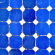 Blue and white tiles — Stock Photo #35712245