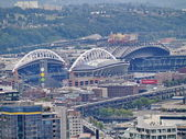 SEATTLE - OCTOBER 06: Century Link Field stadium. Home of Seattl — Stock Photo