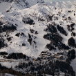 Stock Photo: Snowy mountains