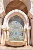 Detail of Gates of the The Hassan II Mosque, located in Casablan — Stock Photo
