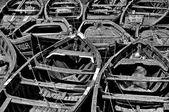 Fishing boats of Essaouira, Morocco — Stock Photo