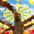 OZORA, HUNGARY - AUGUST 01: Contemporary art on Ozora Festival, — Stock Photo #51145131