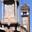 Royalty-Free Stock Photo: Old market column in Verona