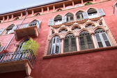 Historic Palace n Verona — Stock Photo