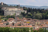 View over the old town of Verona — Stock Photo