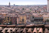 Overlooking the old town of Verona — Stock Photo