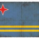 Постер, плакат: Grunge flag of Aruba Netherlands