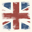 Grunge flag of Great Britain — Stock Photo