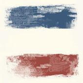 Grunge vlajka nizozemska — Stock fotografie