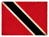 Grunge flag of Trinidad and Tobago — Stock Photo