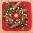 Advent  decoration — Stockfoto