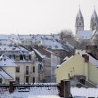 Stock Photo: Old town of Wiesbaden at winter time