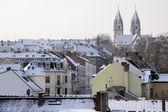 Antigua ciudad de wiesbaden en época de invierno — Foto de Stock