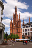 Gothic Market Church — Stock Photo