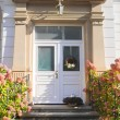 Entrace door of Wilhelminian style — Stock Photo
