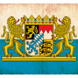 Grunge flag of Bavaria (Germany) — Stock Photo #18570103