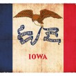Grunge flag of Iowa (USA) — Stock Photo #18578317