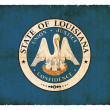 Grunge flag of Louisiana (USA) — Stock Photo