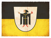 Grunge flag of Munich (Bavaria, Germany) — Stock fotografie