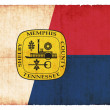 Grunge flag of Memphis/ Tennessee (USA) — Stock Photo #18583765