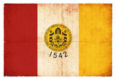 Grunge-Flagge San Diego (USA) — Stock Photo