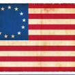 Historic Grunge flag of USA — Stock fotografie #22017273