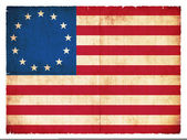 Historic Grunge flag of the USA — Stock Photo