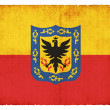 Stockfoto: Grunge flag of Bogot(Columbia)