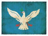 Grunge flag of Salvador de Bahia (Brazil) — Stock Photo