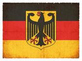 Grunge Flagge Deutschlands — Stockfoto