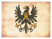 Grunge flag of Prussia (historic) — Stock Photo