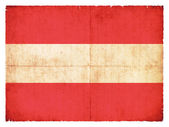 Grunge flag of Austria — Stock Photo
