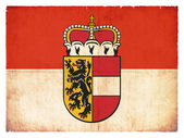 Grunge flag of Salzburg (Austria) — Stockfoto