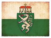 Grunge flag of Styria (Austria) — Zdjęcie stockowe