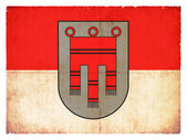 Grunge flag of Vorarlberg (Austria) — Stock Photo