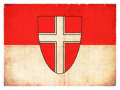 Grunge flag of Vienna (Austria) — Stock Photo