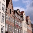 Historic houses in Copenhagen — Stock Photo
