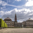 Christiansborg Castle in Copenhagen — Stock Photo